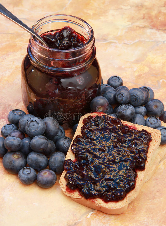 Download Blueberry jam stock image. Image of berry, fresh, juicy - 14858815