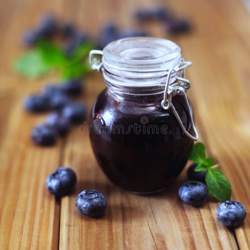 Blueberry Jam zdjęcie royalty free