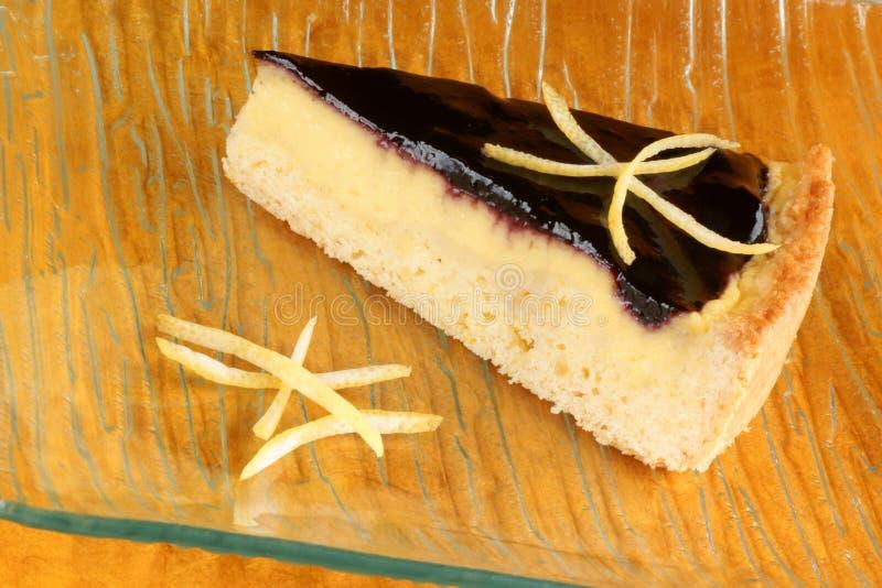 Download Blueberry Marmalade And Custard Cream Tart Stock Photo - Image: 33278042