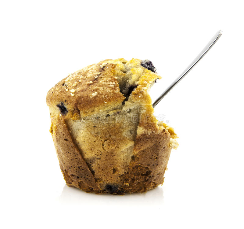 Download Blueberry Muffin stock image. Image of cake, isolated - 25984929