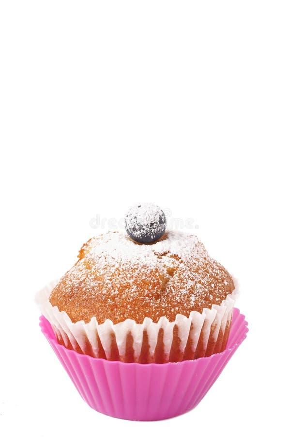 Free Blueberry Muffin On White Stock Photos - 8523763
