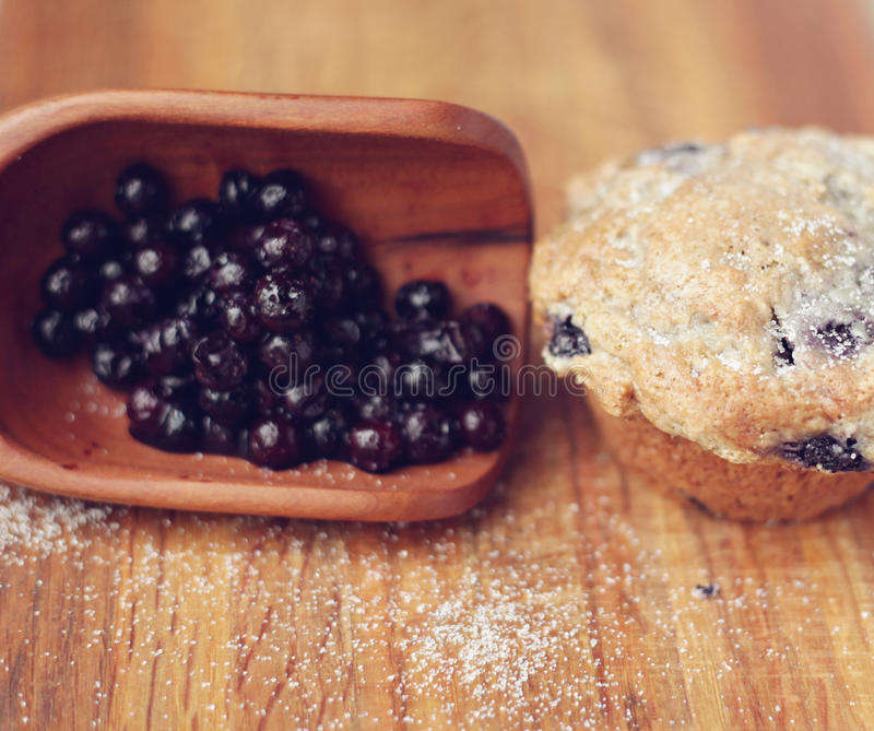 Download Blueberry Muffins stock photo. Image of up, homemade - 28928060