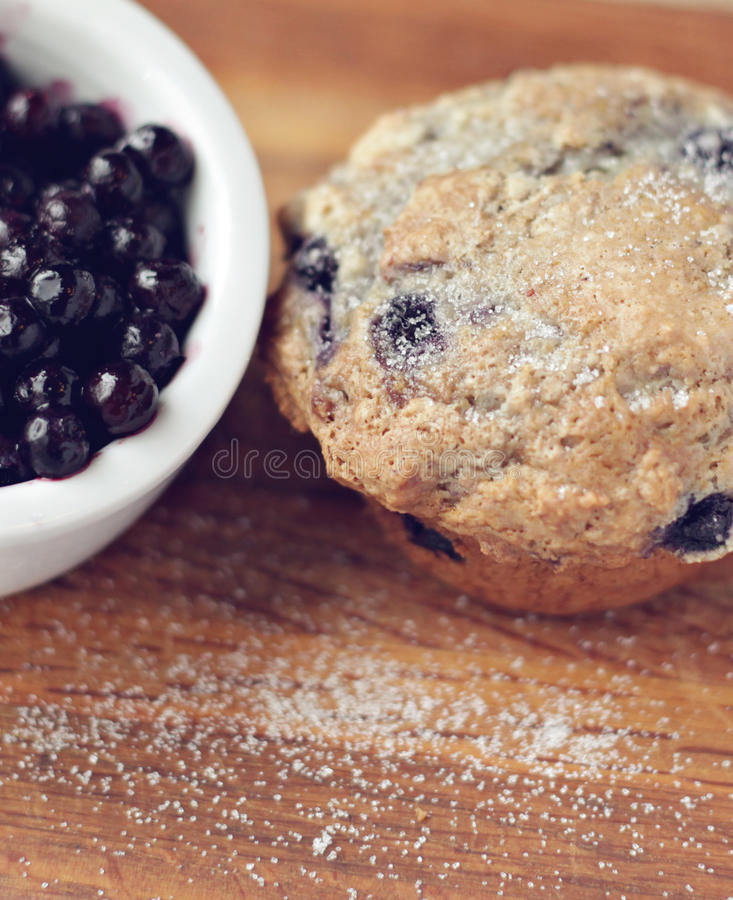 Download Blueberry Muffins stock photo. Image of goods, pastries - 28928070
