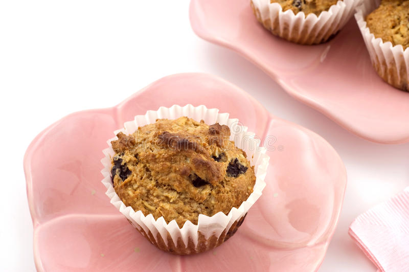 Download Blueberry Oatmeal Muffins Royalty Free Stock Image - Image: 18487036