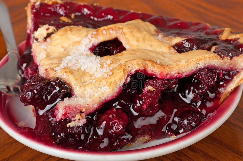 Download Blueberry Pie stock image. Image of sweet, snack, delicious - 14850773