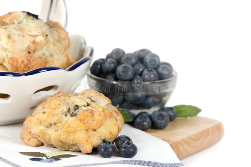 Blueberry Scones - horizontal royalty free stock image