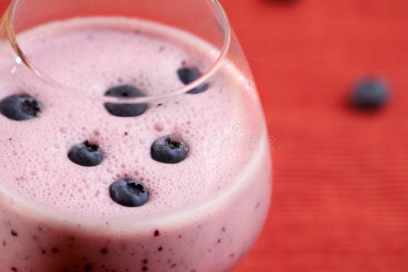 Download Blueberry Smoothie stock photo. Image of refreshment, meal - 9087262