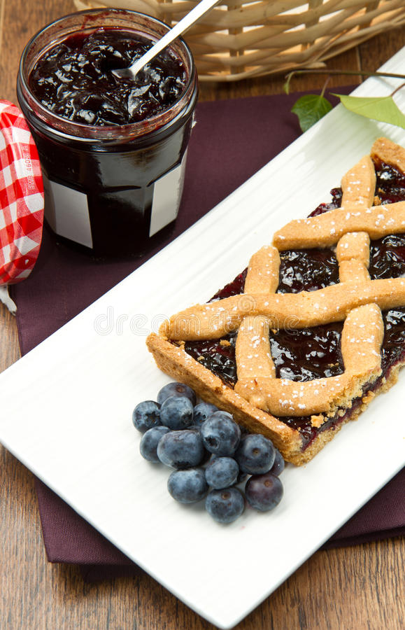 Download Blueberry Tarts Stock Image - Image: 26006501
