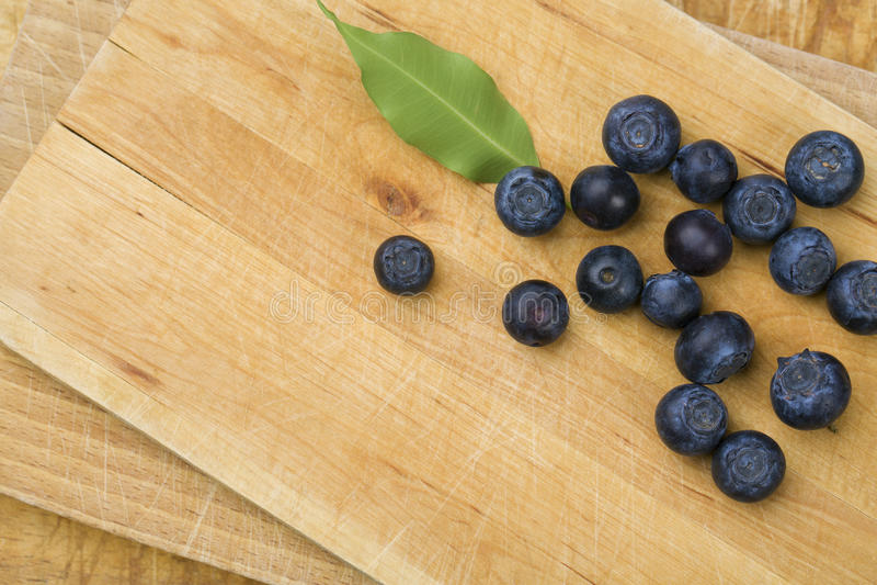 Blueberrys royalty-vrije stock afbeeldingen