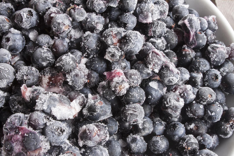 Blueberrys,taken straight from the freezer. A lot of Blueberrys,taken straight from the freezer royalty free stock image