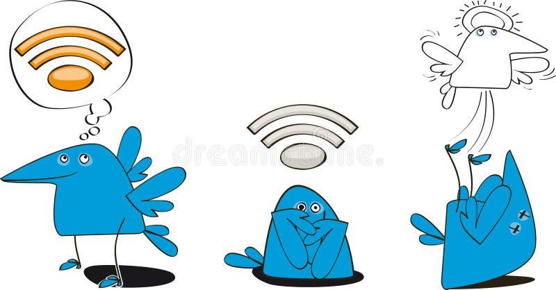 Download Bluebird stock vector. Illustration of thinking, dead - 15877720