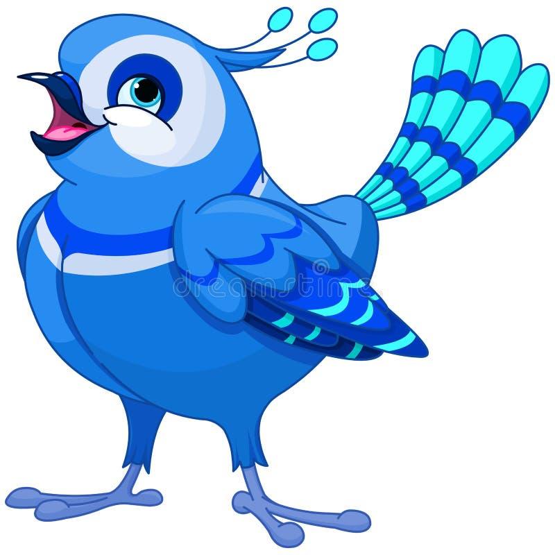 bluebird illustrazione vettoriale