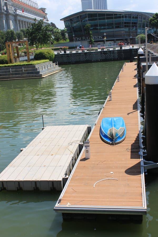 Blueboat fotos de archivo