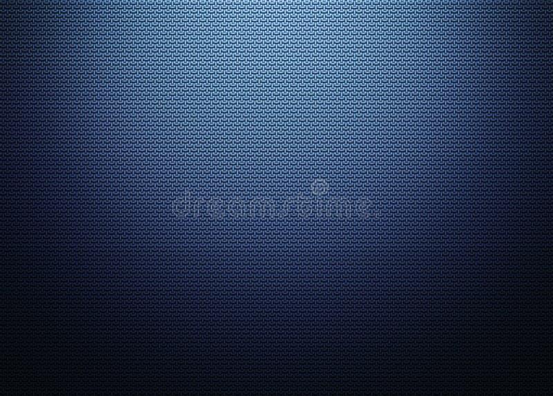 Blued metal grid structure texture vector illustration