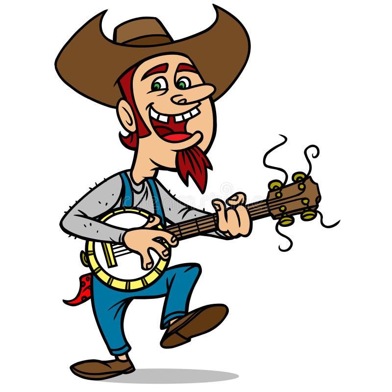 Bluegrass Bill illustration de vecteur