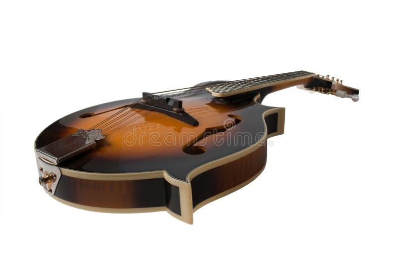 Bluegrass Mandolin. Isolated on White Background royalty free stock photos