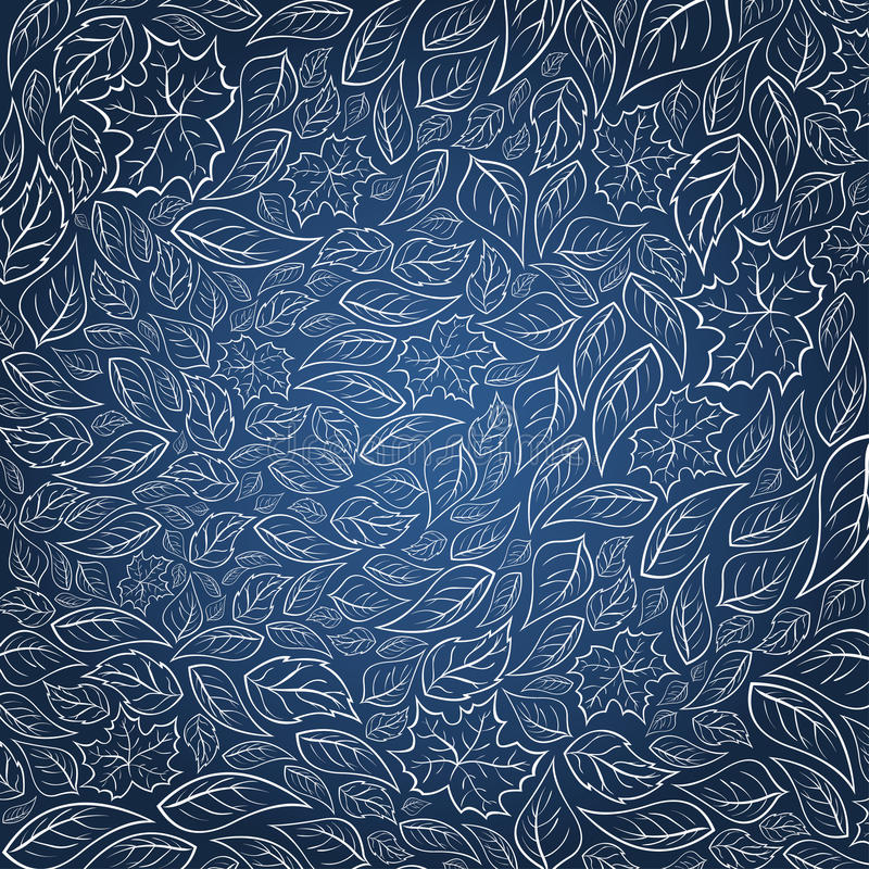 Bluen låter vara bakgrund vektor illustrationer