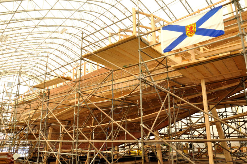 Bluenose II Rekonstruktion stockfoto