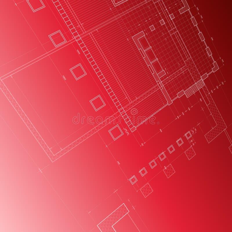 blueprint красный цвет бесплатная иллюстрация