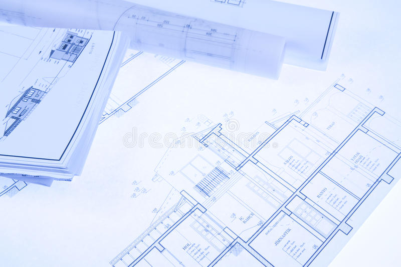 Download Blueprint Stock Photography - Image: 17413842