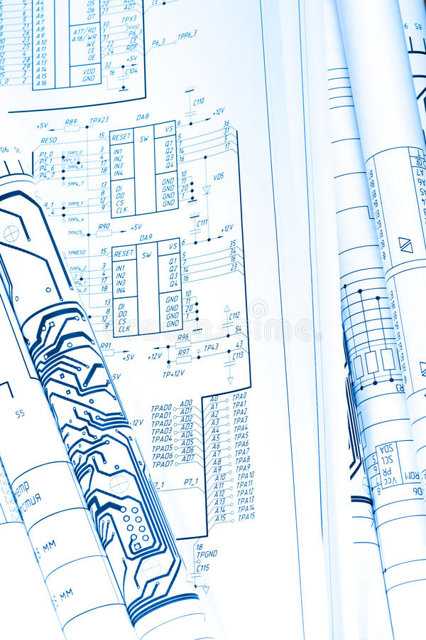 Download Blueprint stock photo. Image of paper, implementation - 22465586