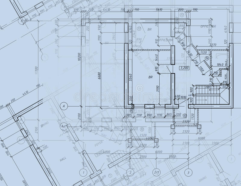Blueprint cad architectural plan drawing stock illustration download blueprint cad architectural plan drawing stock illustration illustration of engineering door 15913594 malvernweather Image collections