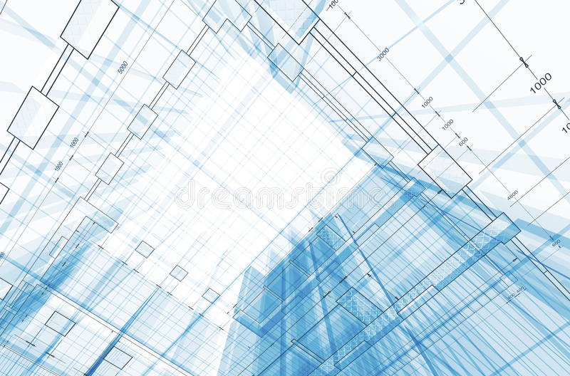 Download Blueprint concept stock illustration. Image of construction - 17450894