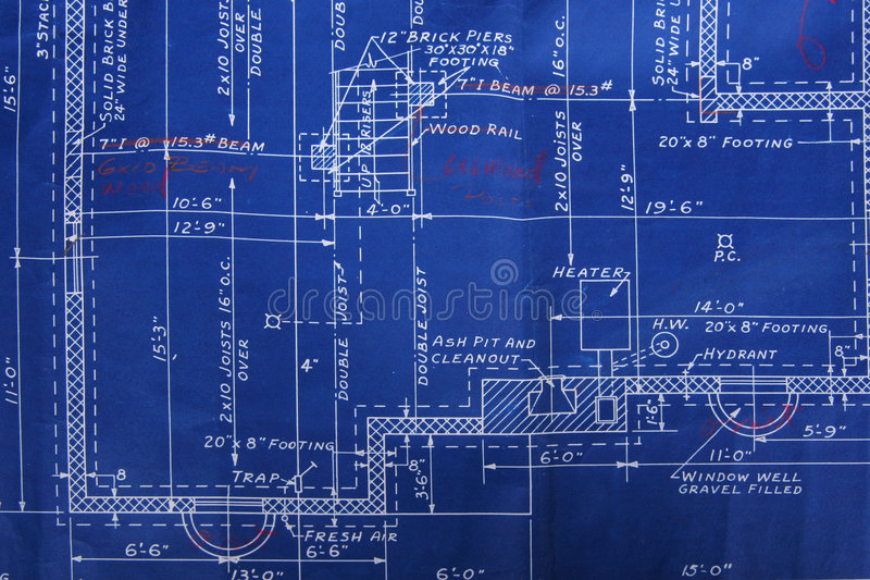Download Blueprint detail stock image. Image of dimension, build - 836253