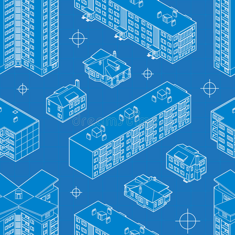 Blueprint dwelling buildings seamless pattern stock vector download blueprint dwelling buildings seamless pattern stock vector illustration of repeat architecture 50557764 malvernweather Gallery