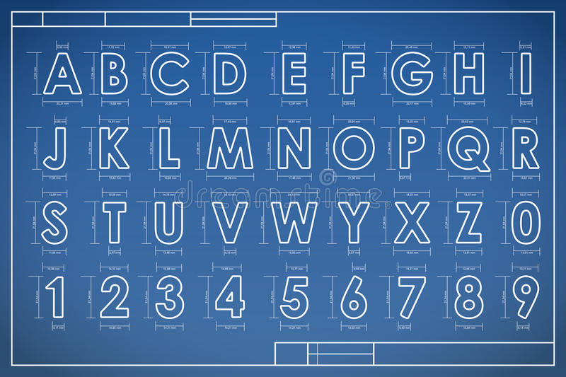 Blueprint font alphabet stock vector illustration of graphic 57492434 download blueprint font alphabet stock vector illustration of graphic 57492434 malvernweather Choice Image