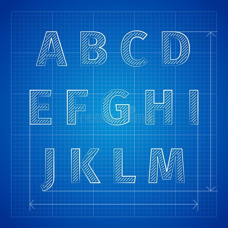 Blueprint font stock vector illustration of building 48245590 download blueprint font stock vector illustration of building 48245590 malvernweather Gallery
