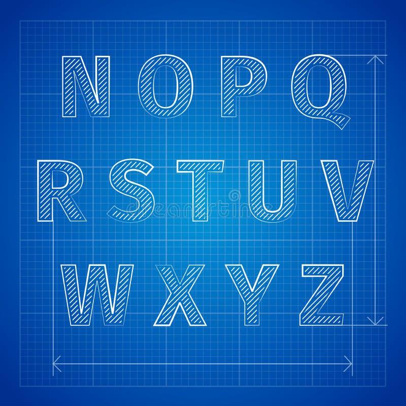 Blueprint font stock vector illustration of lettering 48245600 download blueprint font stock vector illustration of lettering 48245600 malvernweather Gallery