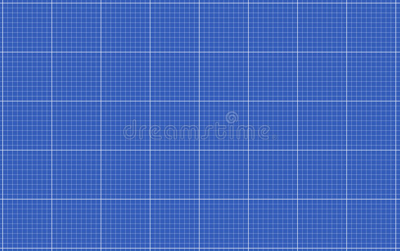 blueprint grid stock vector  illustration of scale  blue