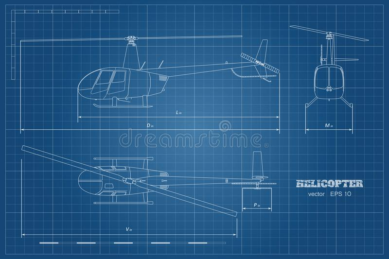 Blueprint of helicopter top front and side view detailed image download blueprint of helicopter top front and side view detailed image of business malvernweather Image collections