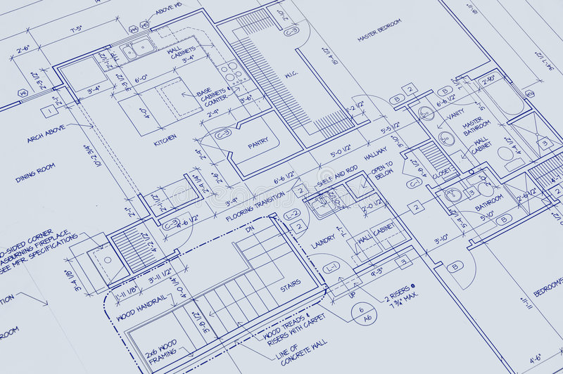 Download Blueprint Of A House Royalty Free Stock Photo - Image: 1980015