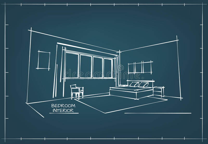 Blueprint interior drawing stock vector illustration of background download blueprint interior drawing stock vector illustration of background 68880100 malvernweather Image collections