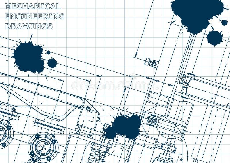 Blueprint scheme plan sketch stock vector illustration of download blueprint scheme plan sketch stock vector illustration of design engineer malvernweather Images