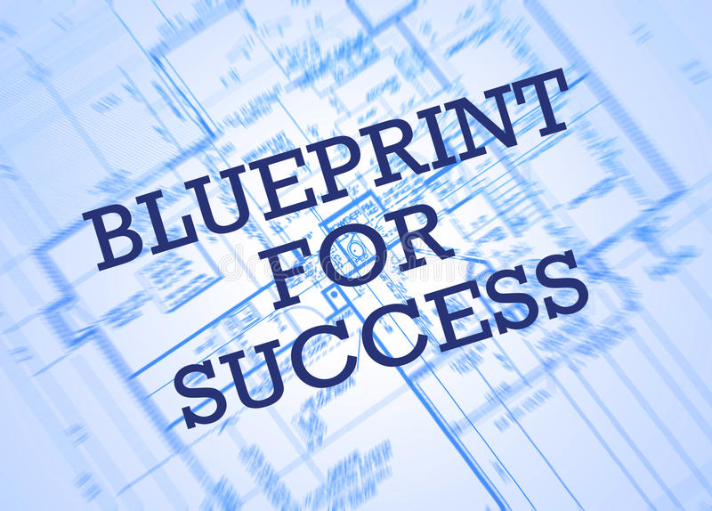 Blueprint for success stock photo image of plan design 48627722 blueprint for success malvernweather Image collections