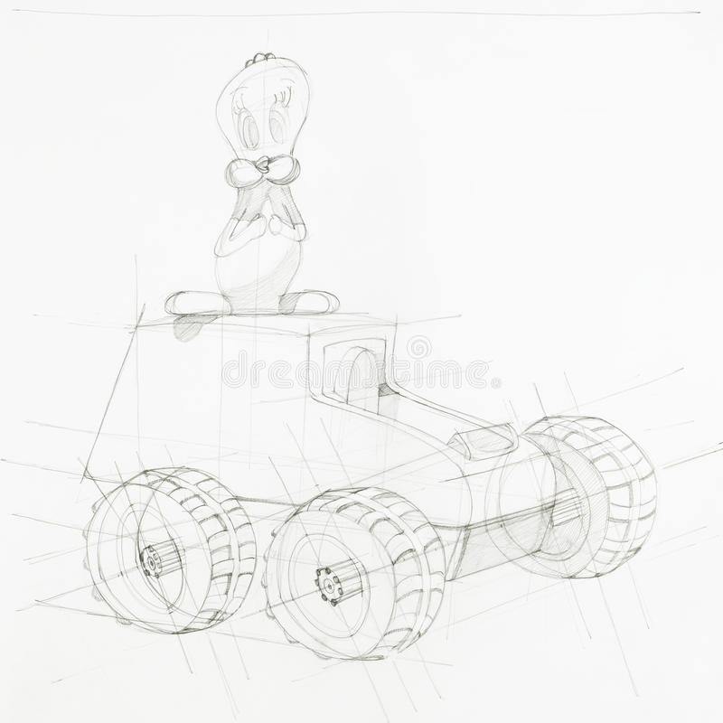 Blueprint of toy car stock illustration illustration of forms download blueprint of toy car stock illustration illustration of forms 42979582 malvernweather Images