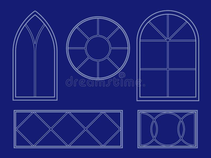Blueprint window illustrations stock vector illustration of download blueprint window illustrations stock vector illustration of blueprint vector 11234657 malvernweather Images