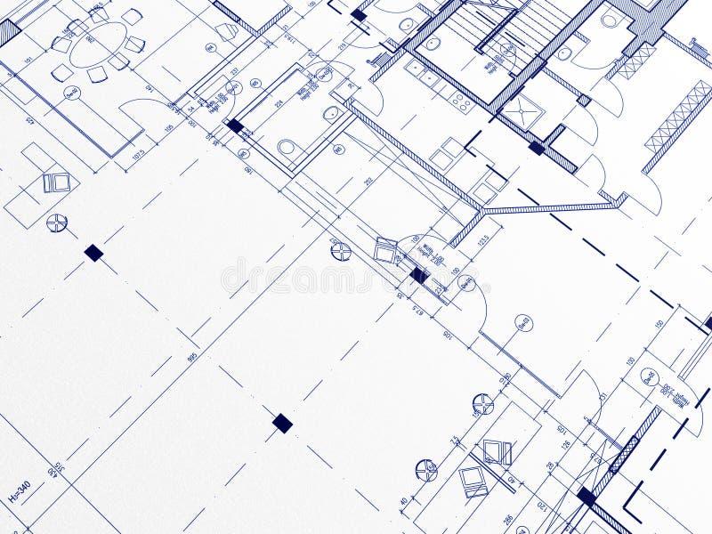 Blueprints. Technical cad documentation architectural background