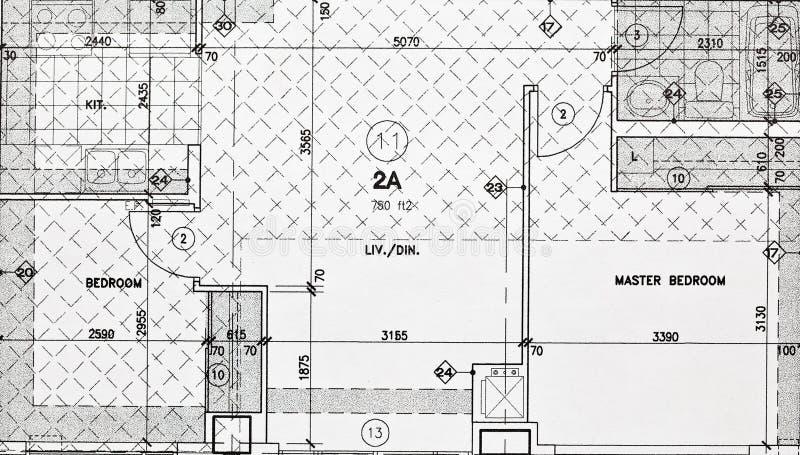 Download Blueprints stock image. Image of document, development - 14162067
