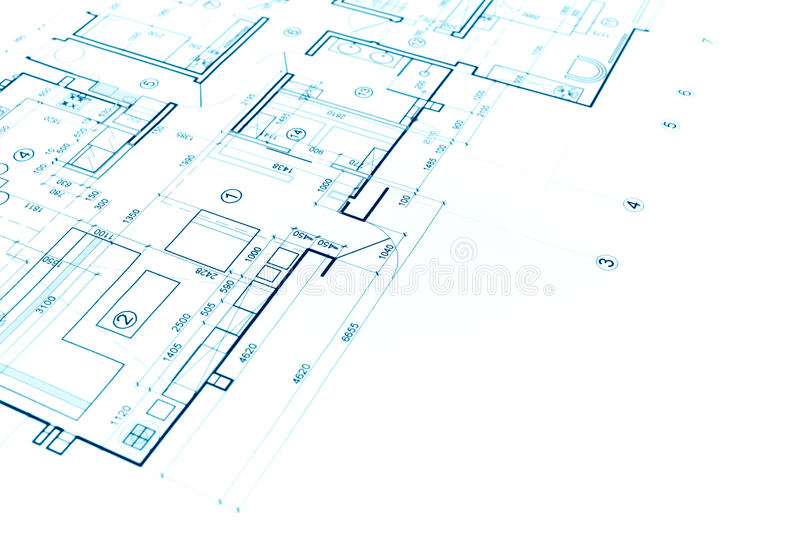 Nice Download Blueprints Background With Technical Drawing Of Construction Pla  Stock Image   Image Of Idea,