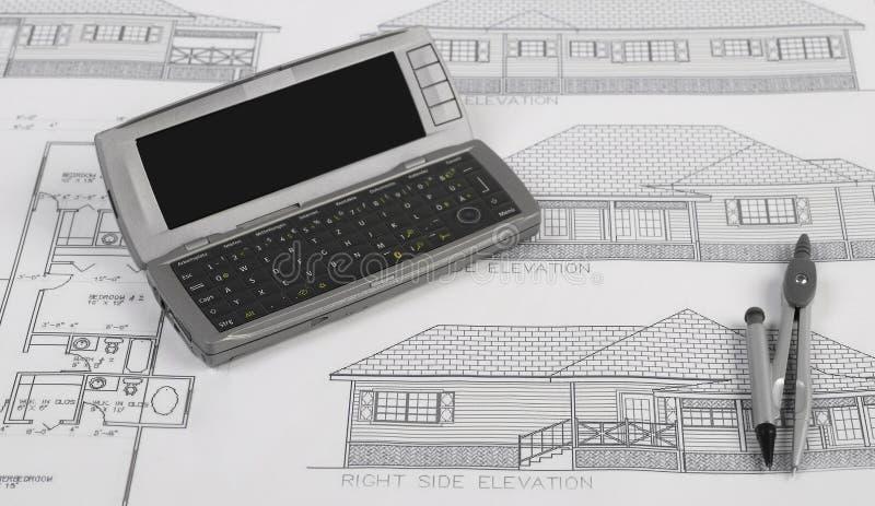 Blueprints series stock images