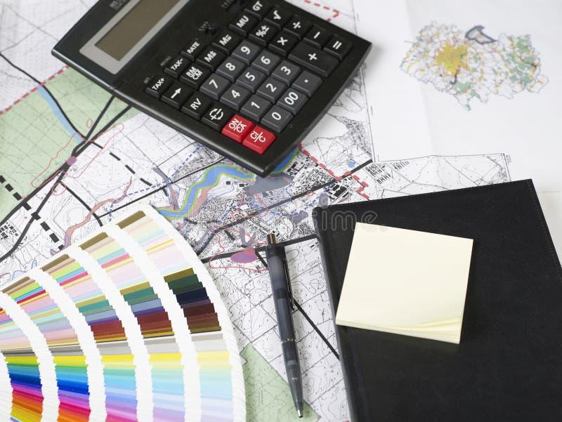 Blueprints series royalty free stock image