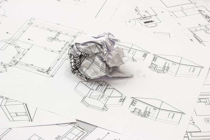 Download Blueprints Stock Photography - Image: 34384862