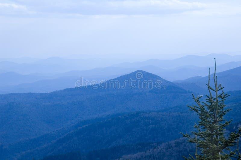 Blueridge Berge stockbild