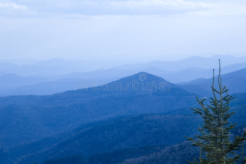 Blueridge mountains stock image