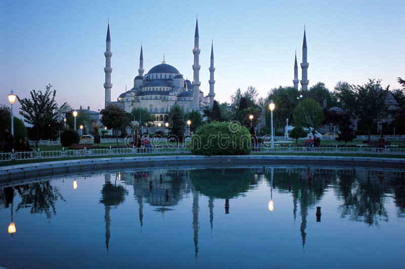blues 2 meczetu obraz royalty free