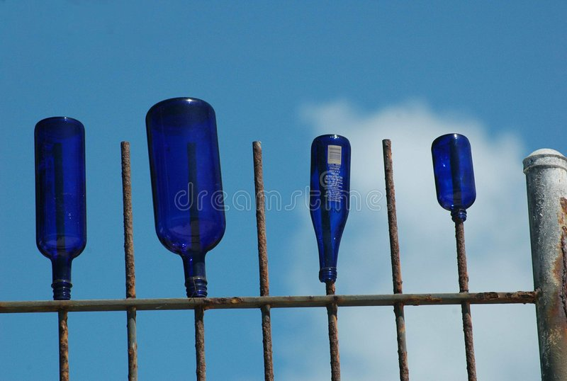Download Blues stock image. Image of bottles, rust, white, glass - 3205151